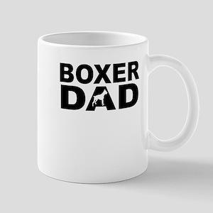 Boxer Dad Mugs