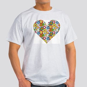 Flower-Heart Light T-Shirt
