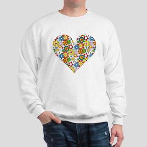 Flower-Heart Sweatshirt