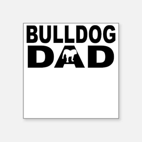 Bulldog Dad Sticker