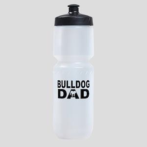 Bulldog Dad Sports Bottle