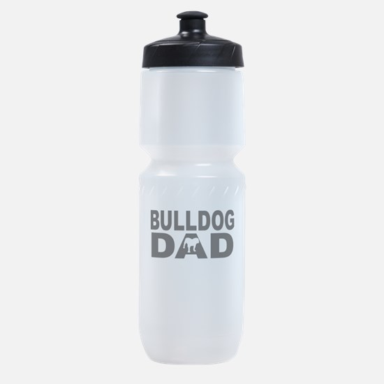 Bulldog Dad Sports Bottle