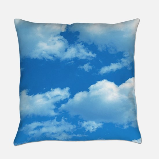 Clouds Everyday Pillow