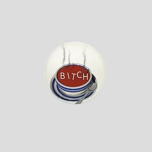 Alphabet Soup Bitch Mini Button