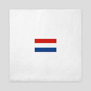 Netherlands Flag Queen Duvet