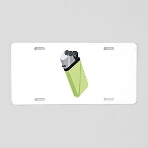 Lighter Aluminum License Plate