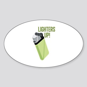 Lighters Up Sticker