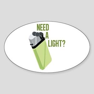 Need A Light Sticker