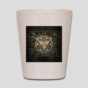 Celtic Shield and Swords Shot Glass