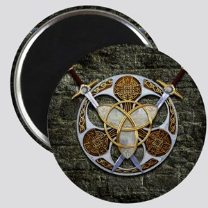 Celtic Shield and Swords Magnets