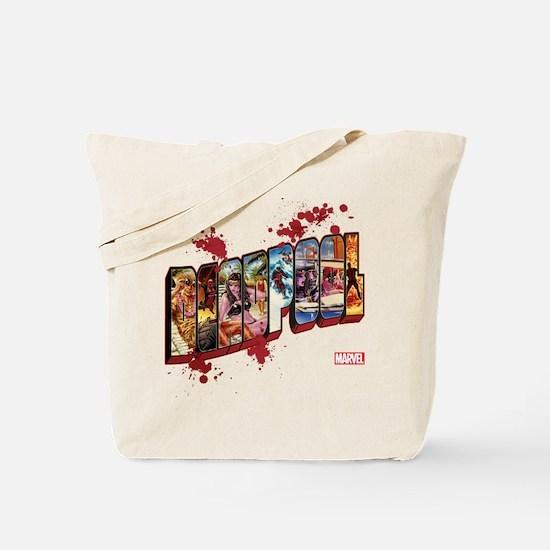 Deadpool Cinematic Tote Bag