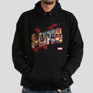 Deadpool Cinematic Hoodie (dark)
