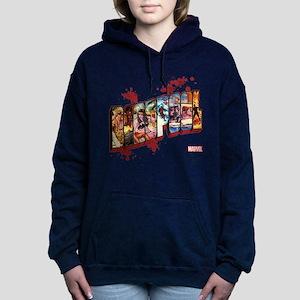 Deadpool Cinematic Women's Hooded Sweatshirt