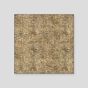 Egyptian Hieroglyphics Sticker