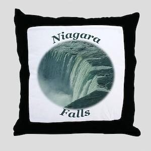 Niagara Falls NY Throw Pillow