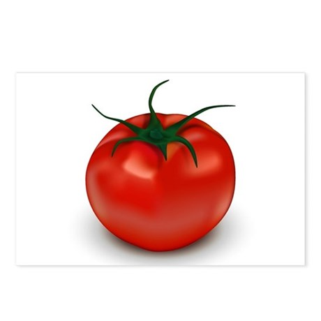 Red Tomato ! Postcards (Package of 8)