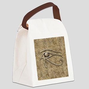 Eye Of Ra Canvas Lunch Bag
