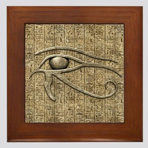 Eye Of Ra Framed Tile