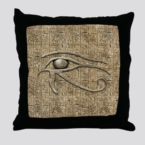 Eye Of Ra Throw Pillow