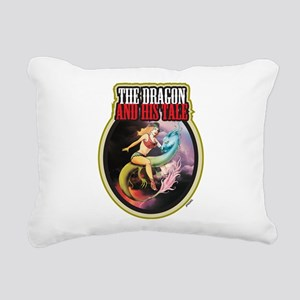 THE DRAGON and HIS TALE Rectangular Canvas Pillow
