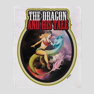 THE DRAGON and HIS TALE - Throw Blanket