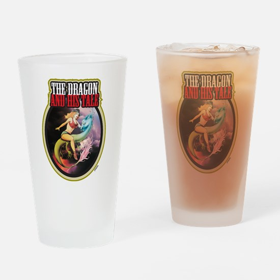 THE DRAGON and HIS TALE - Drinking Glass