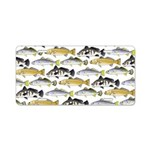 Seatrout and Drum Pattern Aluminum License Plate