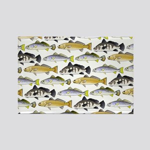Seatrout and Drum Pattern Magnets