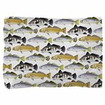 Seatrout and Drum Pattern Pillow Sham
