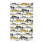 Seatrout and Drum Pattern Area Rug