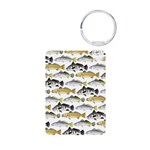 Seatrout and Drum Pattern Keychains