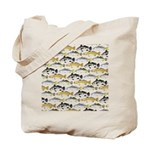 Seatrout and Drum Pattern Tote Bag