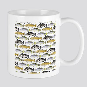 Seatrout and Drum Pattern Mugs