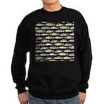 Seatrout and Drum Pattern Sweatshirt