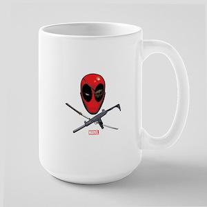 Deadpool Jolly Roger Large Mug