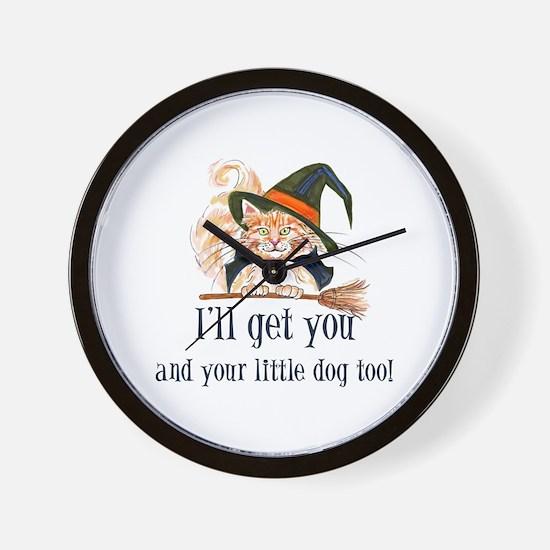 I'll get you! Wall Clock