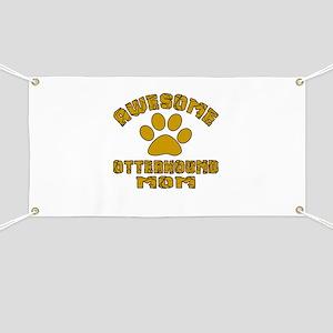 Awesome Otterhound Mom Dog Designs Banner