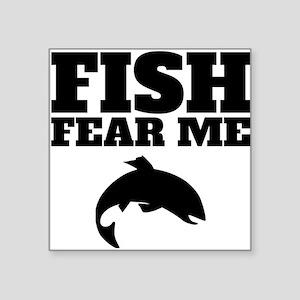 Fish Fear Me Sticker