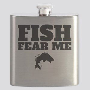 Fish Fear Me Flask