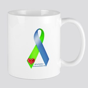 Parental Alienation Awareness Ribbon Mugs