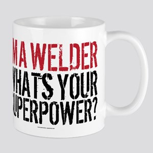 Welder is my Superpower Mugs