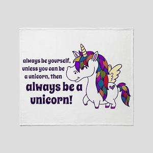 Ellagee Unicorn Throw Blanket