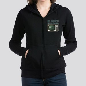 BE QUIET Women's Zip Hoodie