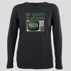 BE QUIET Plus Size Long Sleeve Tee