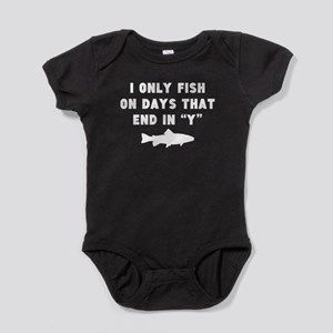 Fish On Days That End In Y Baby Bodysuit