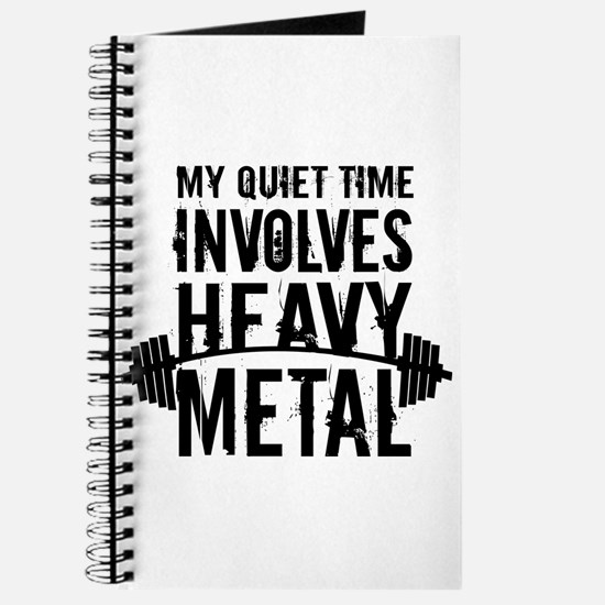 My Quiet Time Involves Heavy Metal Journal