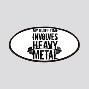 My Quiet Time Involves Heavy Metal Patch