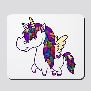Ellagee Unicorn Mousepad