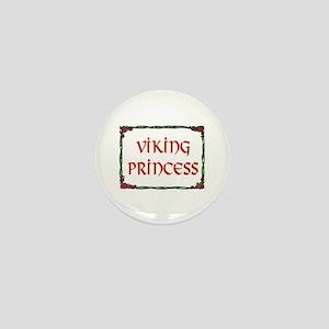VIKING PRINCESS Mini Button