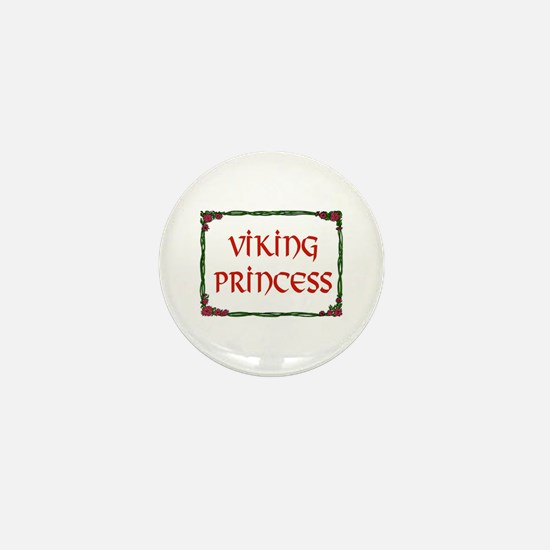 VIKING PRINCESS Mini Button